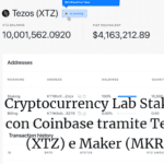 Cryptocurrency Lab Staking con Coinbase tramite Tezos (XTZ) e Maker (MKR)