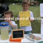 Limonata al gusto di Bitcoin